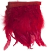 Coque/marabou Trim 6-7in 1Yd Approx 17g Red